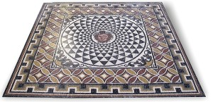 rom pavimento mosaico-romano-emblema